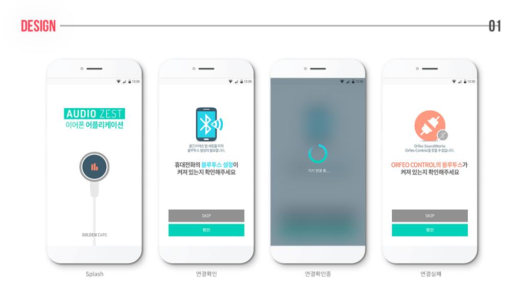 ORFEO App Design
